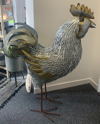Giant Metal Chicken