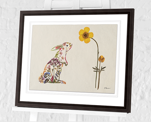 40x50cm  Hello Spring Framed Print