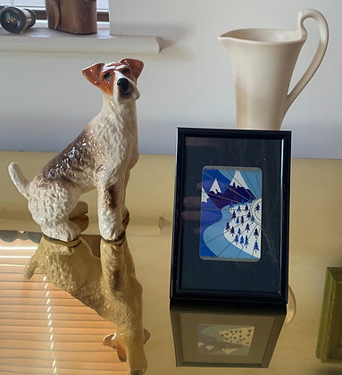 Mountain's 1920's Playing Card In 6x4 Inch Frame