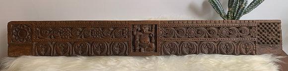 Carved Wooden Ganesha Freeze