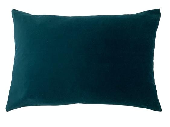 40x60cm Teal Cushion Filled