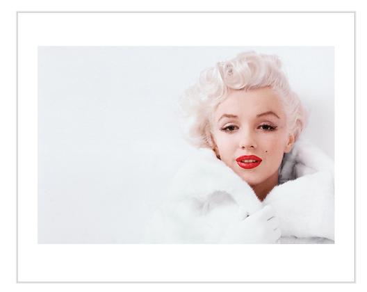 50x40cm  Marilyn Monroe Framed Print