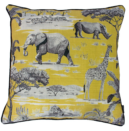 Safari Filled Cushion 50x50cm