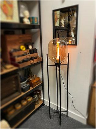 Glass Glow Floor Lamp