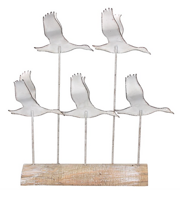 Flying Geese Sculpture 35cm