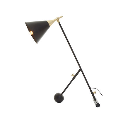 Mano Black Table Lamp 76cm