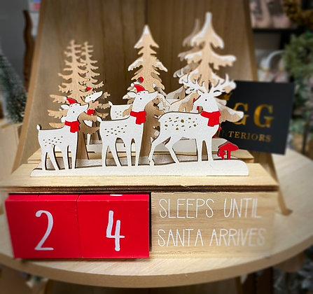 """""""Sleeps Until Santa"""" Count Down"""