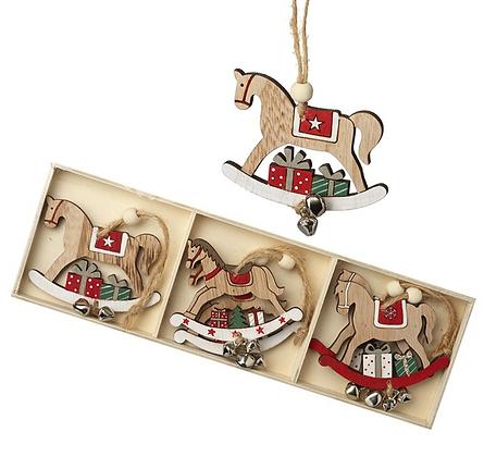 9 Hanging Rocking Horse Boxed Set