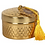 Thumbnail: 10cm Kasbah Candle Pot With Tassel