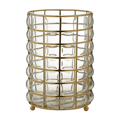 Martina Wireframe Hurricane Lamp 31cm