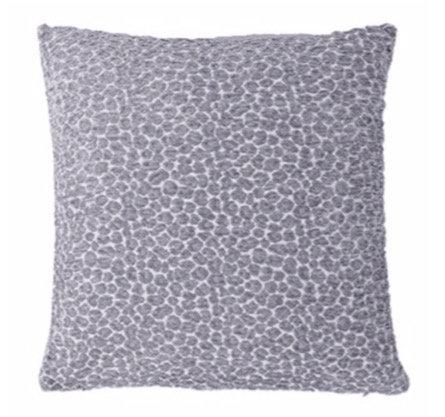 45cm Grey Leo Cushion
