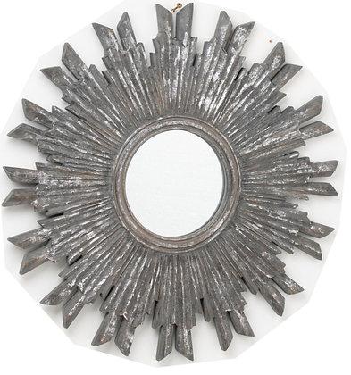 Metallic Burst Mirror