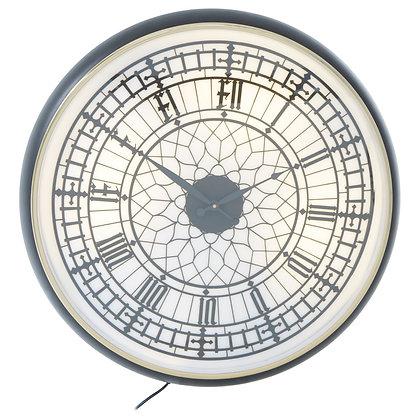 MateoWall Clock - White & Black