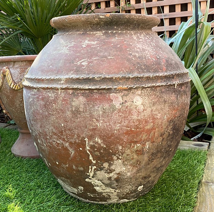 Reclaimed Large Terracotta Pot