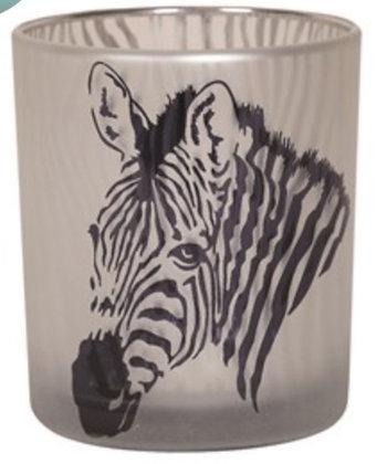 10cm  Zebra Tea Light Holder