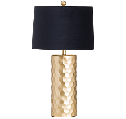 Honey Comb Table Lamp