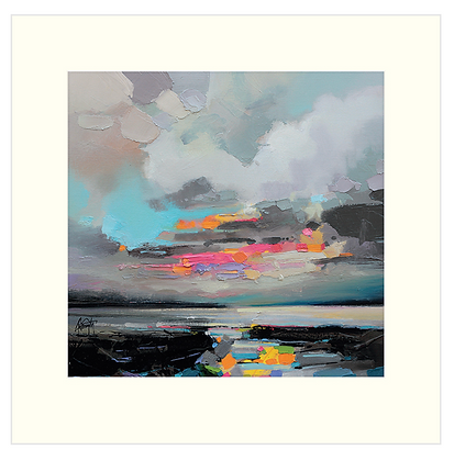 40x40 cm 'Refraction' Print With Mount