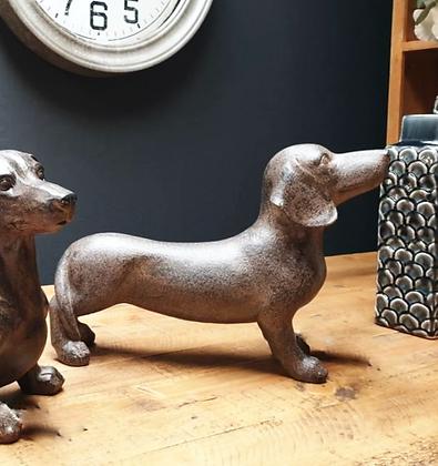 Sausage Dog Standing Ornament