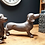 Thumbnail: Sausage Dog Standing Ornament
