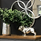 Thumbnail: 36cm Winston The Bulldog Antique Silver Ornament