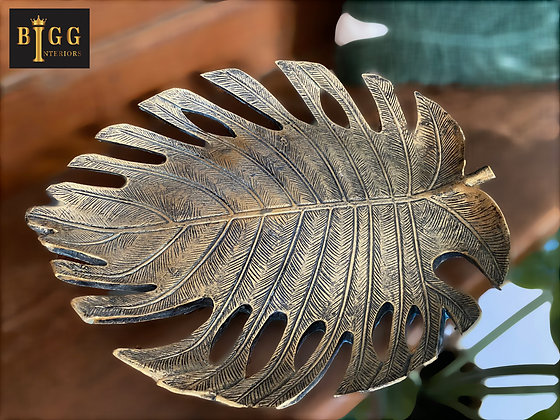 Cheese Plant Leaf Dish