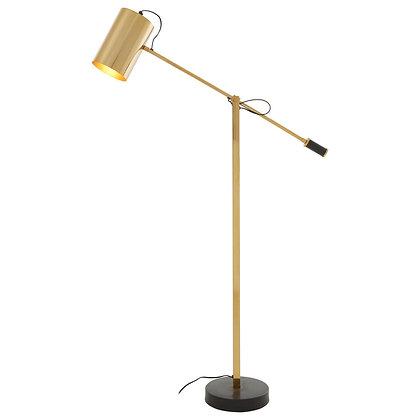 ManoBlack & Gold Floor Lamp 130cm