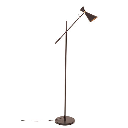 Black Iron Floor Lamp 160cm