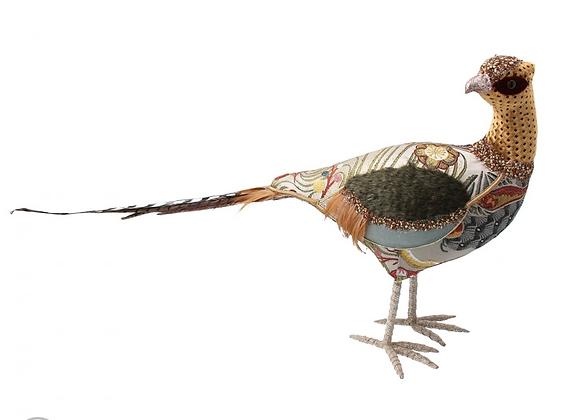 Patchwork Fabric Pheasant