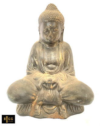 Terracotta Sitting Buddha