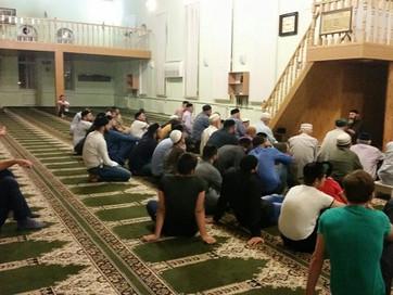 С.Межиев прочитал в мечети проповедь о вероубеждении
