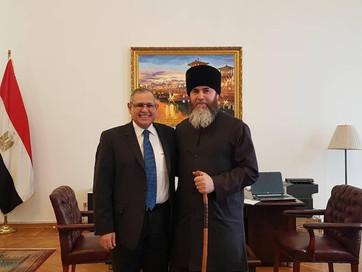 Встреча с дипломатами Египта