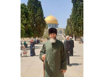 В ходе рабочей поездки Советник Главы ЧР, Муфтий ЧР Салах-Хаджи Межиев посетил мечеть Аль-Акса