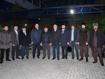 Гости из ХНАО в Чечне