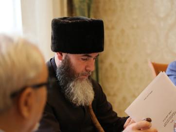 Советник Главы Чеченской Республики, Муфтий ЧР Салах-Хаджи Межиев находиться с рабочим визитом в Мос