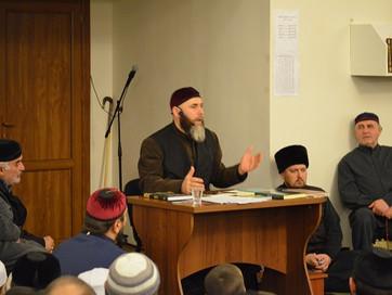 С.Межиев провел маджлис в грозненской мечети
