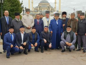 В ДУМ ЧРсостоялось заседание Высшего религиозного Совета народов Кавказа и Координационного центра