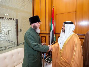 Муфтий ЧР Салах-Хаджи Межиев посетил Генеральное агентство по делам Ислама и вакуфов Объединённых Ар