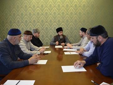 В ДУМ Чечни прошло совещание