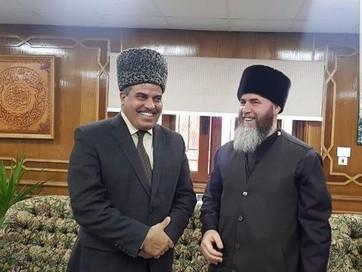 """""""аль-Азхар"""" встречает гостей из Чечни"""