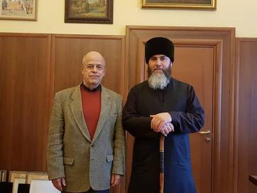 Встреча с директором института востоковедения РАН Виталием Вячеславовичем Наумкиным