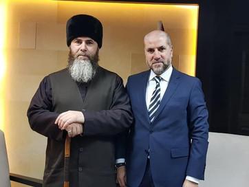 Встреча с Верховным судьей Палестины Махмудом Сидки Аль-Хаббашем