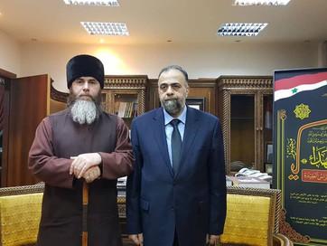 Встреча с духовенством Сирии