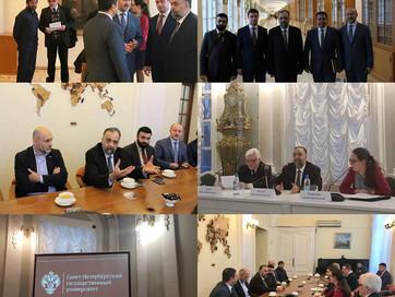 Встреча со студентами СПбГУ