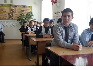 Кадий встретился со школьниками села Айти-Мохк