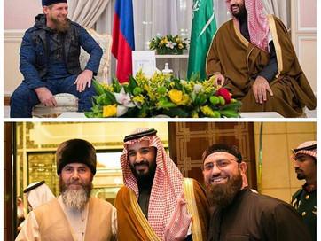 الشيشان و السعودية توحدا ضد الطوائف