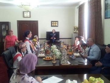 В Веденском районе прошла встреча со школьниками на уровне районной администрации