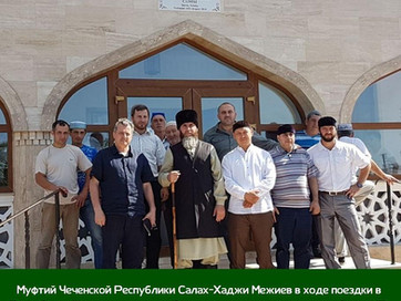 Поездка в крымскую мечеть имени Ахмат-Хаджи Кадырова