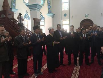 В Белогорске торжественно открылась Соборная мечеть