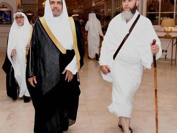 Муфтий прибыл с рабочим визитом в Саудовскую Аравию