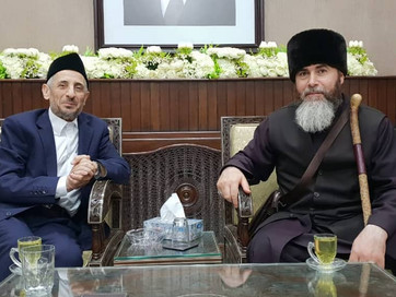 Советник Главы Чеченской Республики, Муфтий ЧР Салах-Хаджи Межиев прибыл в Сирийскую Арабскую Респуб
